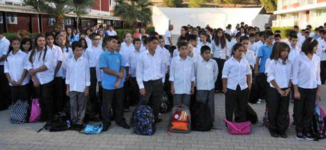 Lefke Gazi'de ilk gün sevinci