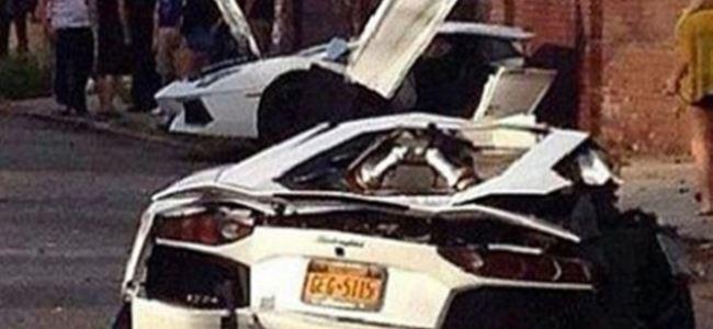 Lamborghini İkiye Bölündü (Video)