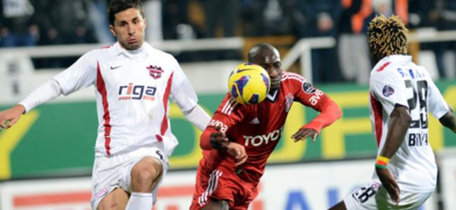 Beşiktaş'a son dakika şoku: 1-1