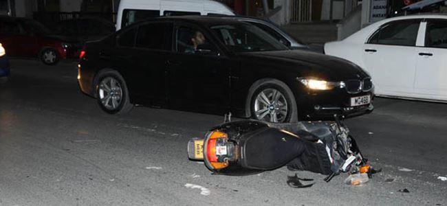 Lefkoşa'daki Kaza Ucuz Atlatıldı!
