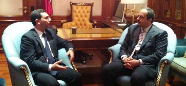 Dışişleri Bakanı Nami Katar Dışişleri Bakanı Al-Altiyah İle Biraraya Geldi