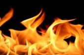 Kumyalı'da Ev Yangını