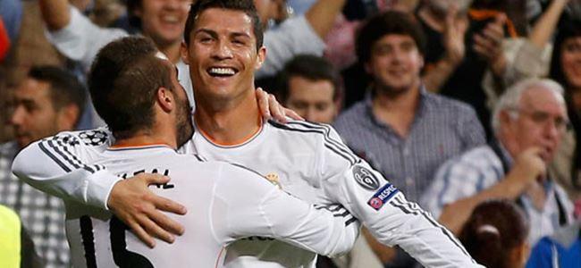 Real'i Ronaldo ve Di Maria taşıdı