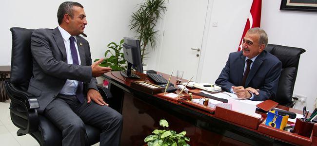 Arabacıoğlu, Turkcell Genel Müdürü Aybars Karaatmaca İle Görüştü