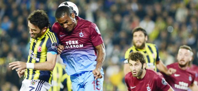 Fenerbahçe-Trabzonspor: 0-0