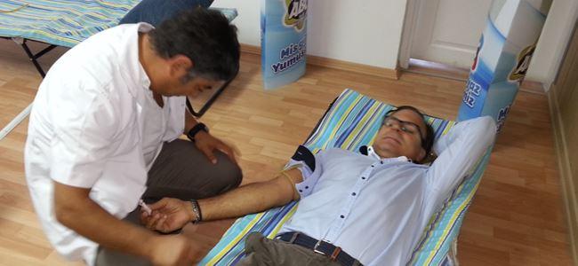 Kan Bağışı Kapmamyası devam ediyor