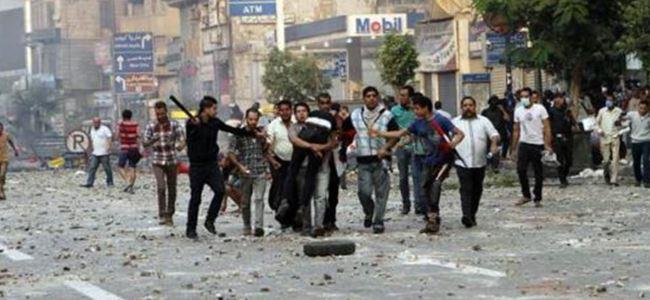 Mısır'da Kutlamalar Çatışmaya Dönüştü!