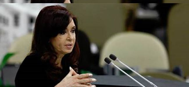 Arjantin Devlet Başkanı'na 1 ay rapor