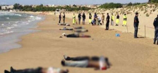 Göçmen faciasında ölü sayısı 300'ü geçti