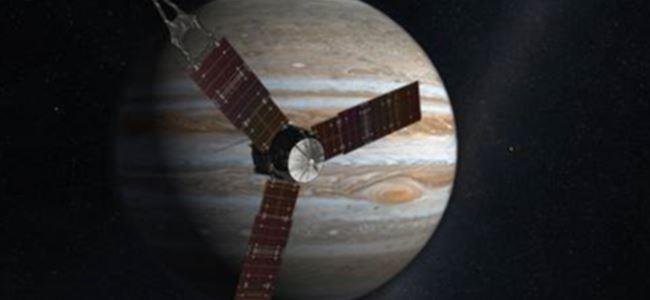 Juno Uzay Aracı Jüpiter Yolunda