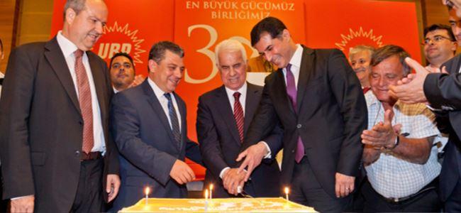 UBP 38 Kuruluş Yıldönümünü Kutladı