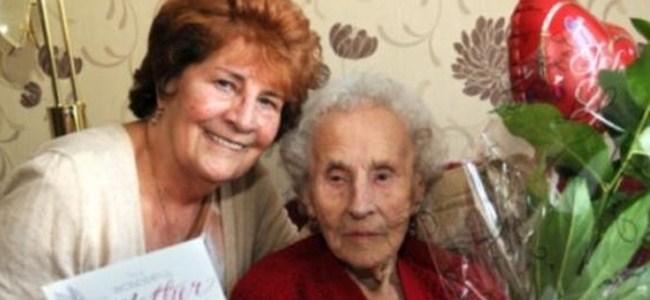 102 yaşında sigarayı bıraktı!
