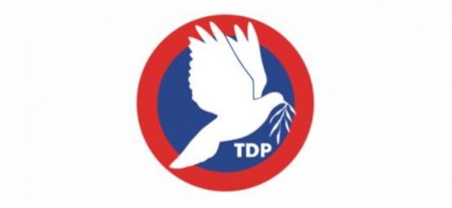 TDP:Tüm Taraflar Sonuç Alıcı Müzakerelere Odaklanmalı