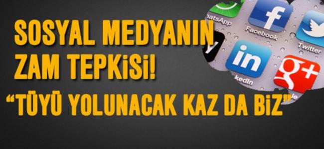 Sosyal medyada elektrik zammına tepki!