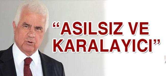 Eroğlu Uğural'ın iddialarına yanıt verdi