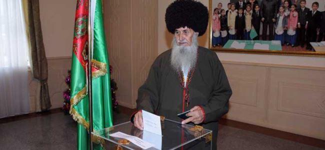 Türkmenistan'da ilklerin seçimi