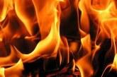 Nergisli'de makinist garajında yangın
