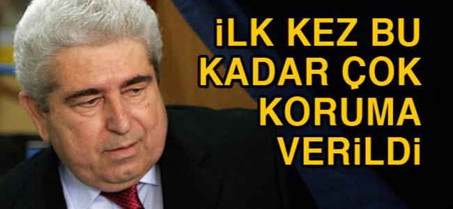Eski Başkan Hristofyas'ı 15 kişi koruyacak