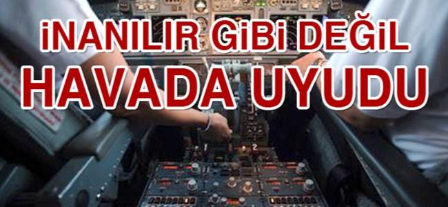 İnanılır gibi değil! Pilot havada…