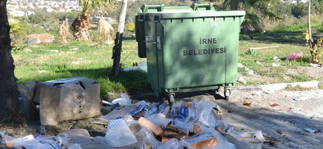 Piknik değil çöp alanı