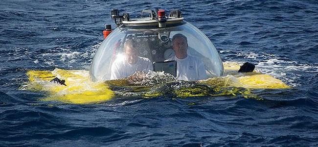 8 saatlik denizaltı keyfi
