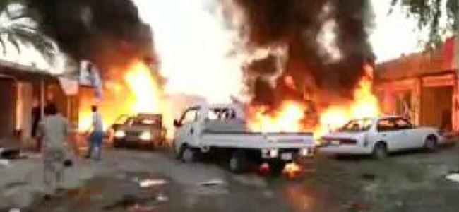 Irak'ta çok sayıda patlama: Ölü ve yaralılar var