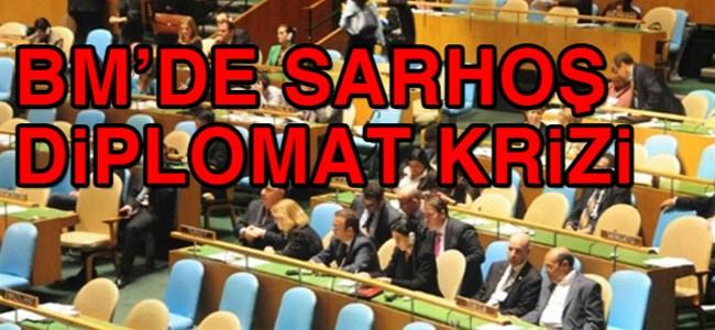 BM'de sarhoş diplomat krizi