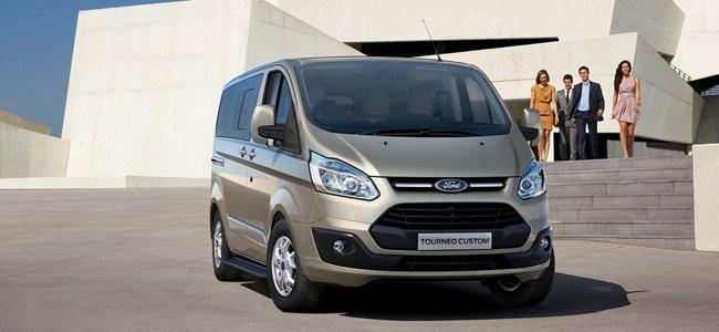Yeni Ford Transit Kıbrıs'ta