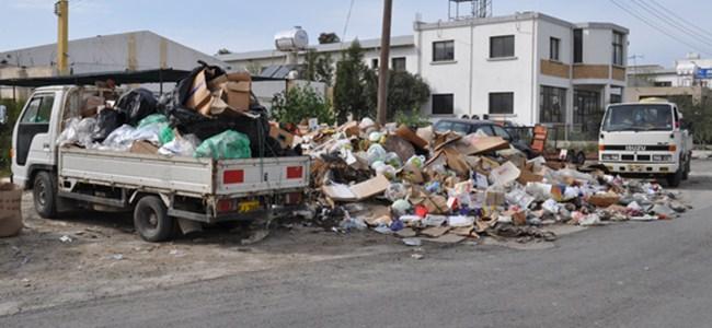 Sanayide çöpler toplanıyor