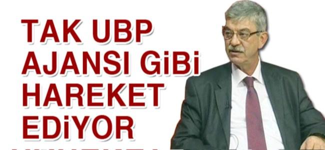 """Kalyoncu: """"TAK UBP Ajansı gibi hareket ediyor"""""""