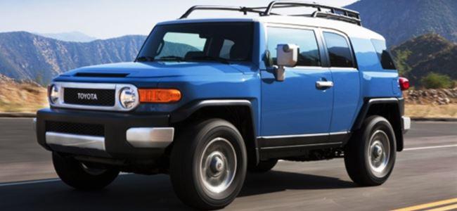 Toyota 13 bin SUV tipi aracını geri çağırdı