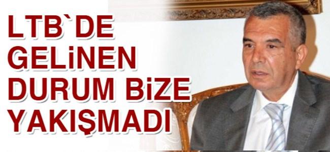 Meclis Başkanı Bozer: `LTB`de gelinen durum bize yakışmadı`