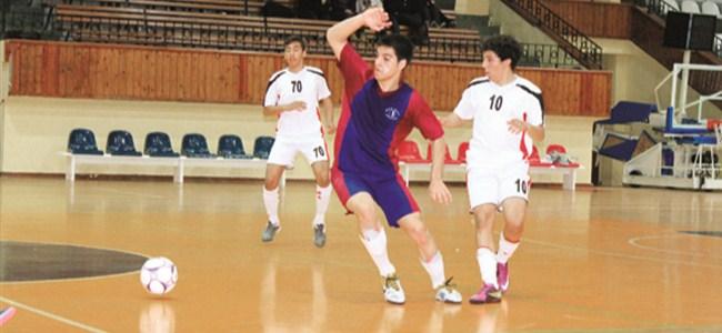 Futsal'da filelere 98 gol
