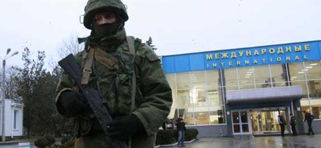 Ruslar havalimanını ele geçirdiği iddia edildi