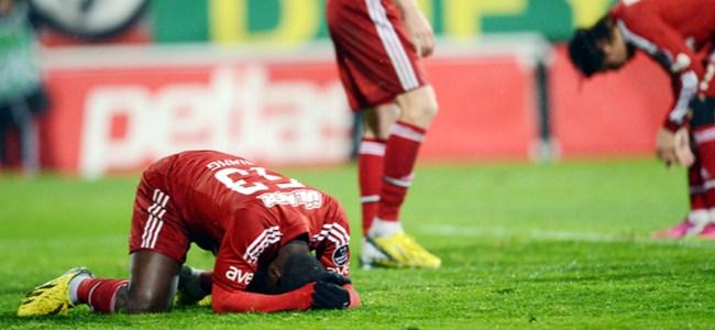 "Beşiktaş'a ""Paşa"" engeli: 1-3"