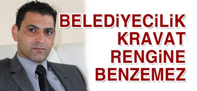Eran: Belediyecilik kravat rengine benzemez