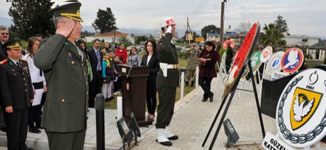 Gaziveren ve Çamlıköy Direnişi ve Şehitleri anıldı