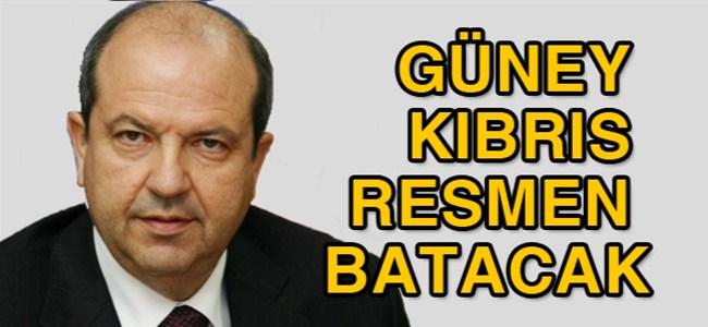 """Tatar: """"Rum parlamentosu paketi kabul etmezse, Güney Kıbrıs resmen batacak`"""