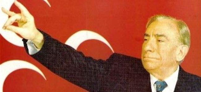 Alparslan Türkeş'in 17. ölüm yıldönümü...