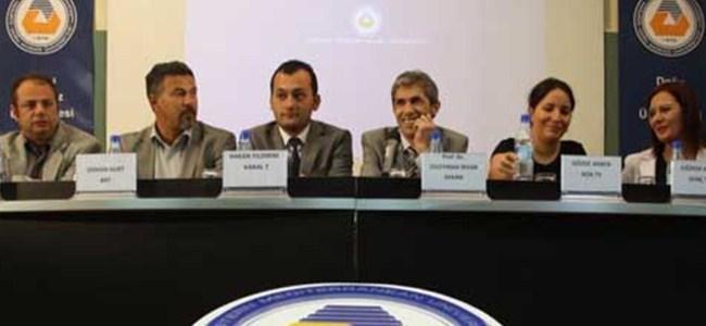 Televizyoncular DAÜ'de sabah programlarını anlattı