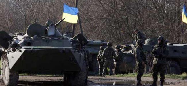 Ukrayna'da savaş gibi operasyon