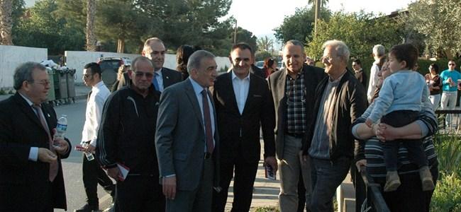"""Arabacıoğlu'ndan """"Doğru Dürüst Lefkoşa""""  ziyaretleri"""