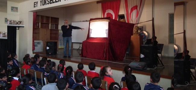 Karagöz ve Hacivat Gönyeli İlkokulu'nda