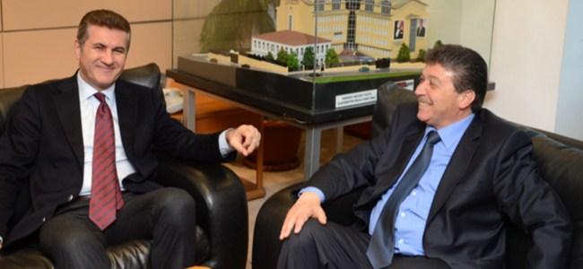 Üstel, Mustafa Sarıgül'ü ziyaret etti