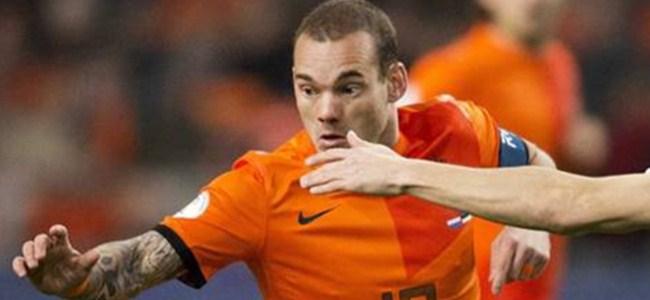 Sneijder kadrodan çıkartıldı