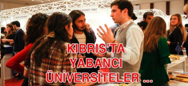 Kıbrıs'ta  Yabancı üniversiteler …