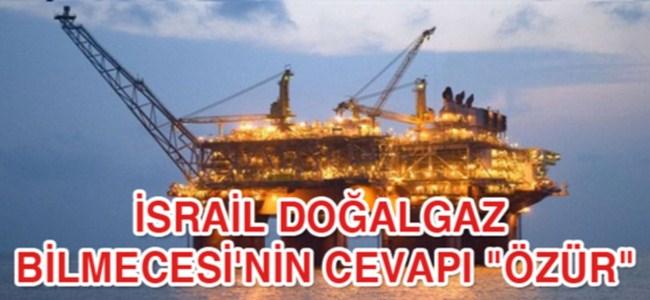"""İsrail doğalgaz bilmecesi'nin cevapı """"özür"""""""