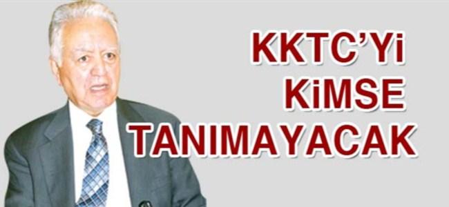 Loğoğlu: KKTC'yi kimse tanımayacak