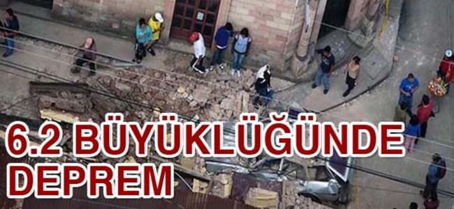 Guatemala'da 6.2 büyüklüğünde deprem