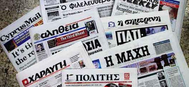 'Mülkiyet belgeleri' Rum basınına sızdı